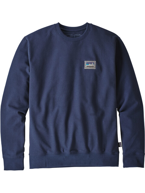 Patagonia M's Shop Sticker Patch Uprisal Crew Sweatshirt Classic Navy